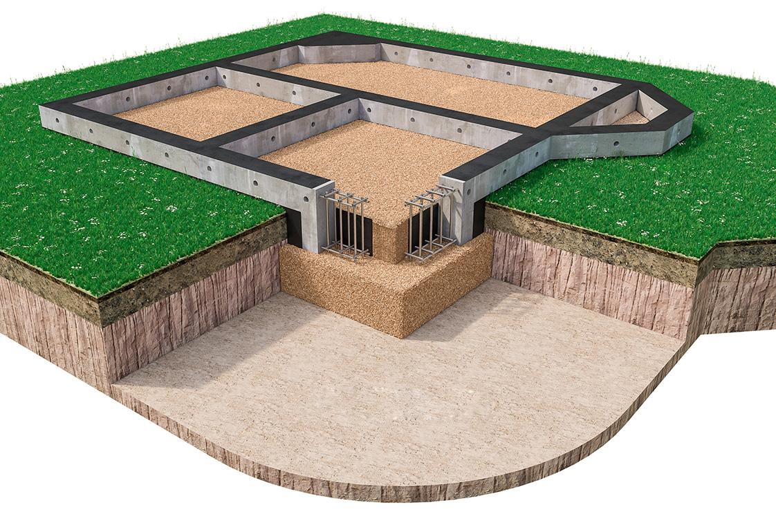 Фундамент для строительства
